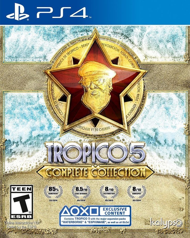 Tropico 5 - Complete Collection For PlayStation 4 (Physical Disc)