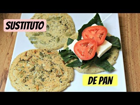 Sustituto de pan SALUDABLE (bajo en carbohidratos) - YouTube