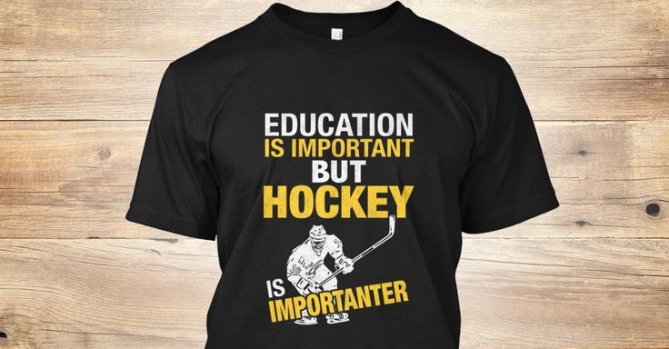 If you love Hockey... :) B is importanter