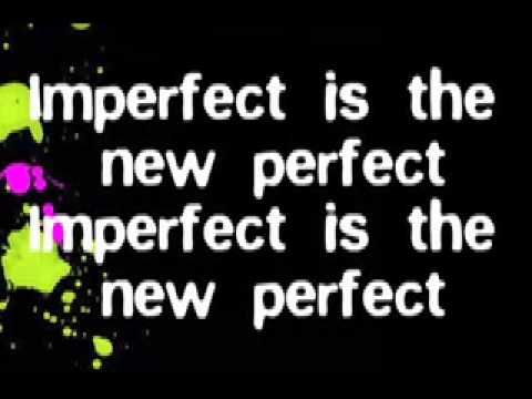 Caitlin Crosby - Imperfect is the New Perfect Lyrics - YouTube
