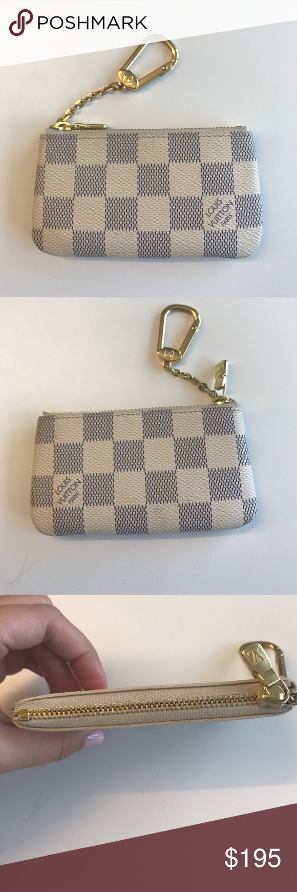 Louis Vuitton key pouch Less than a year old Louis Vuitton coin purse in perfect condition Accessories Key & Card Holders