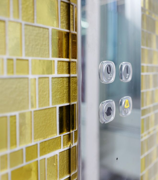 Domuslift Liberty: the unique Liberty mosaic which enhance and beautify DomusLift surfaces