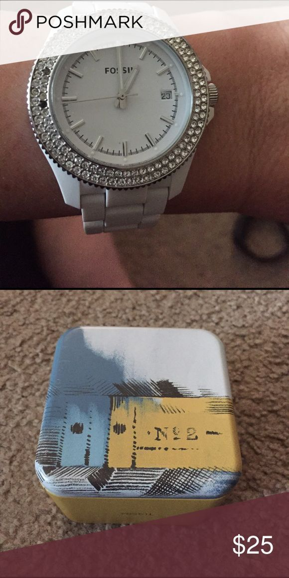 nice Montre pour femme : cool Montre pour femme : Fossil Women's Watch Never worn watch...the pro...