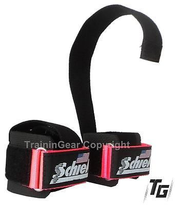 Schiek Lifting Straps Pink 1000 PLSP Gym Fitness Workout Weightlifting Training