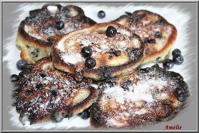 Pancakes Myrtilles / Brimbelles