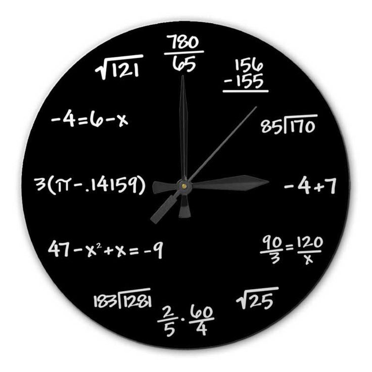 Best 25 gifts for professors ideas on pinterest gifts for mathematics chalkboard clock high quality acrylic 1075 inch diameter clock gift for negle Choice Image