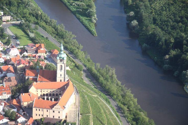 Soutok Labe s Vltavou, Melnik castle.