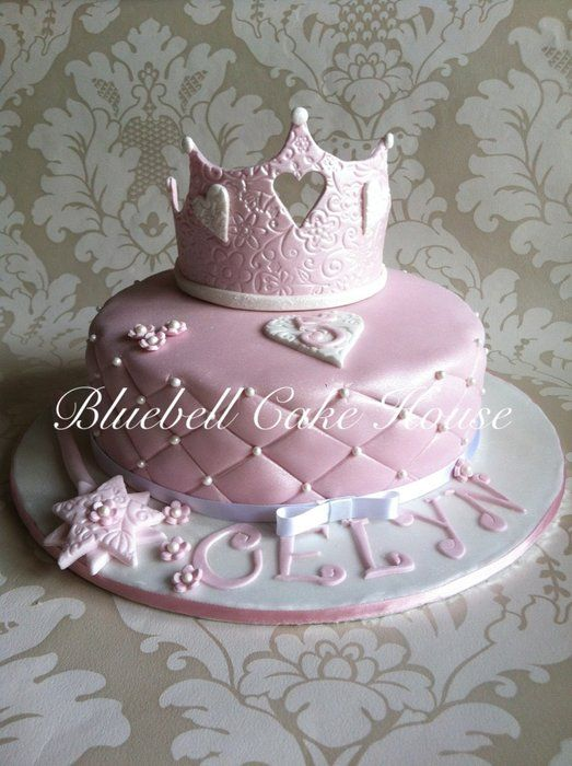 Quilted Princess Birthday Cake When I Have Kids