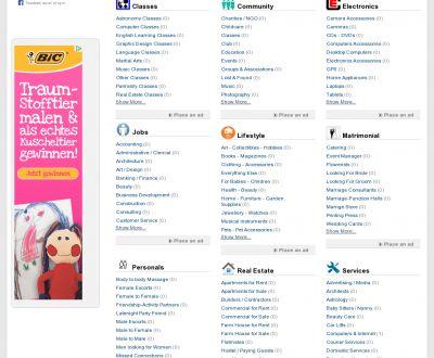 Advanced Classified Script - for Online Classified Ads Portal