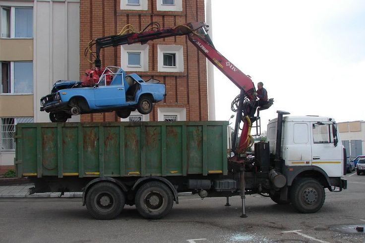 После первой программы утилизации в России 40% машин ушли на черный рынок.