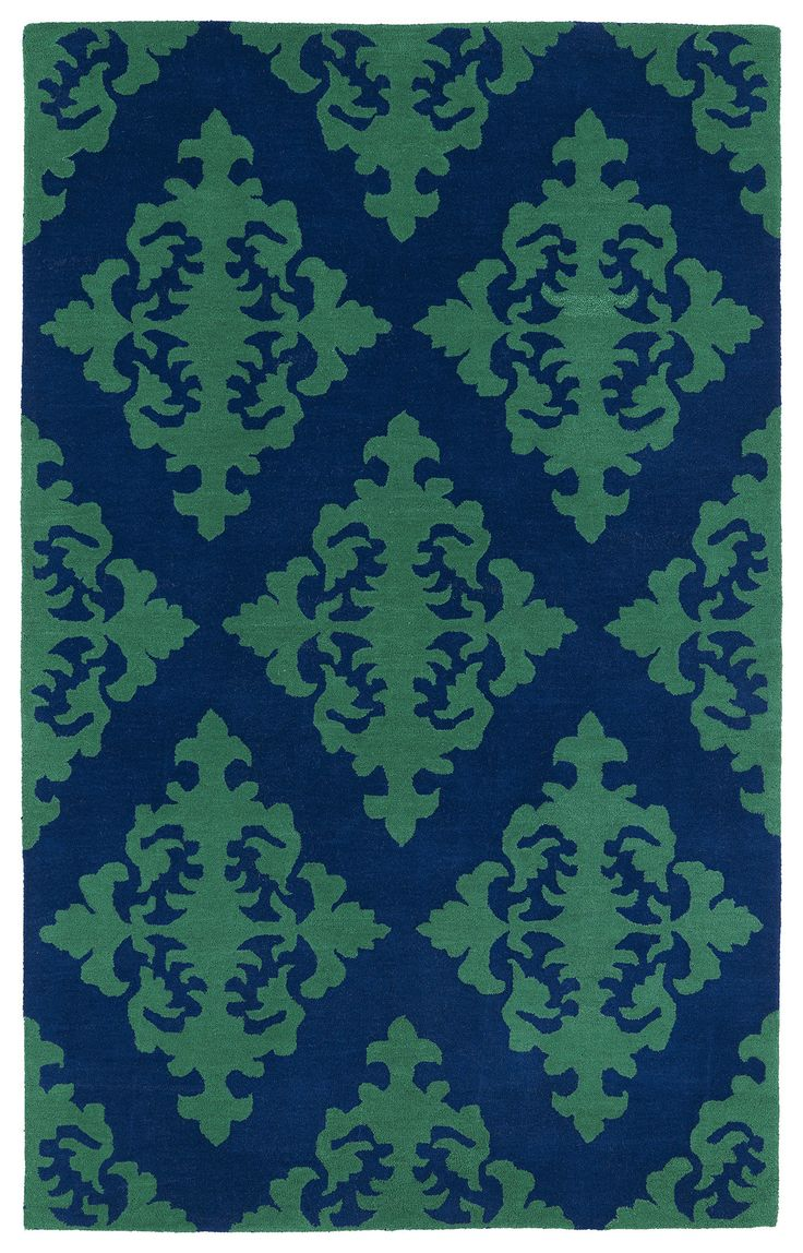 Evolution EVL05 22 Navy Rug