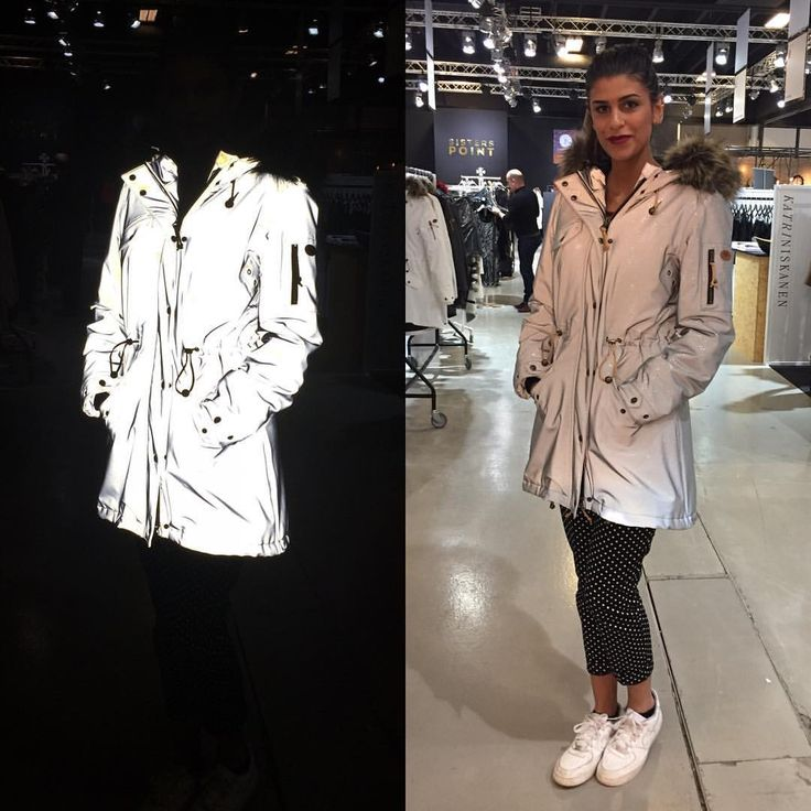 Glowing in the dark - with help of our silver reflective stretch glitter collection. Come visit us at CIFF stand C1-034. #glitterreflective #ciff #copenhagen #fashionfair #fashion #function #feminine #raincoat #rain #regn #rains #rainwear #weloverain #scandinavian #sweden #foreveryrainyday #recycledpolyester #camillamorch #camillamørch #waterproof #allweathercoat #allweather #arainyday #designedinsweden #camillamorcheu #gothenburg #goteborg