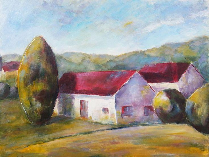 Summer in Szalafő canvas 30x40cm