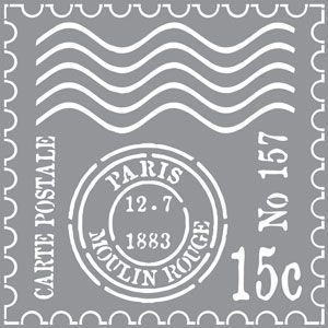 Resultado de imagen para stencil the old antique paris
