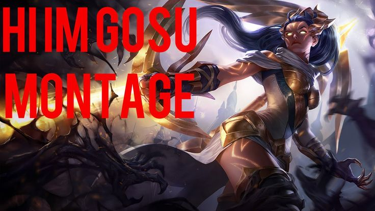 Hi im Gosu Montage - Vayne Pentakill Stream Highlights JUNE 2015