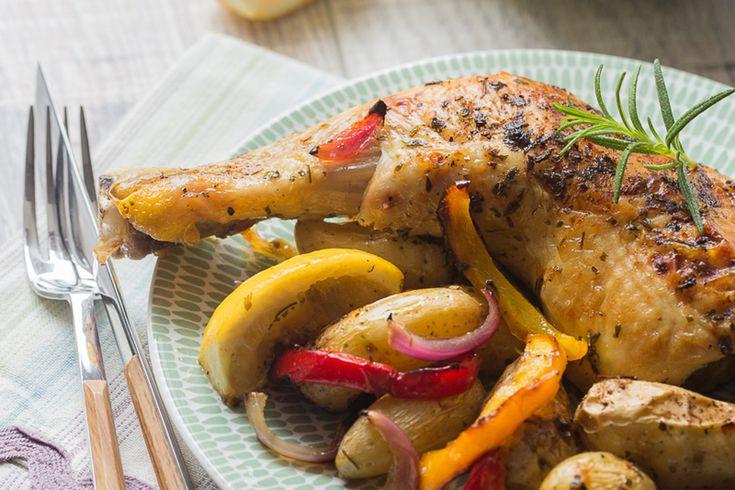 Poulet à la Grecque aux Rattes du Touquet et au Citron via @cuisineaddict