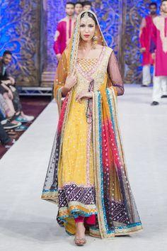 Zainab Chottani Bridal PFW 2014 Collection. Pinned by Zartashia.