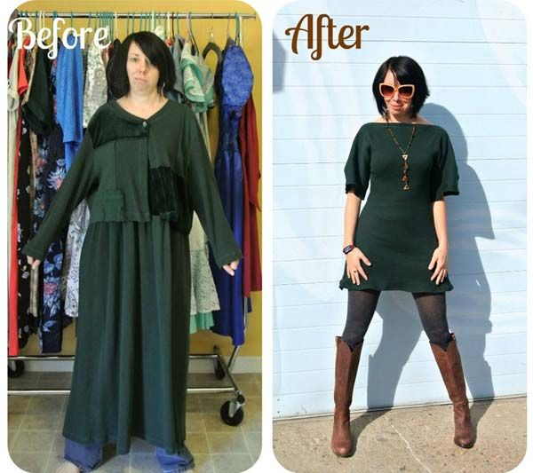 JILLIAN OWENS TURNS HORRIBLE THRIFT STORE CLOTHES INTO HIGH-END FASHION!