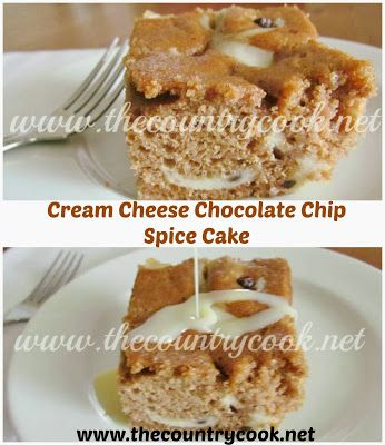 Cream Cheese Spice Cake