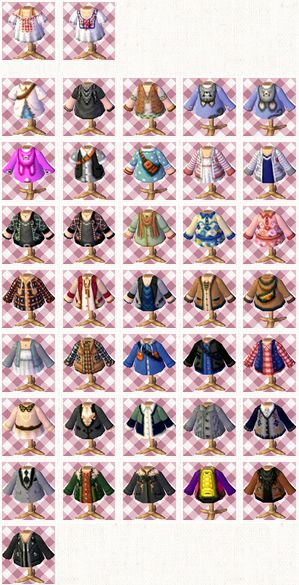 newleaf-fashion:  Click here for the codes! Once you get to the page, just click on any of the designs, click 'read more' and the qr code sh...