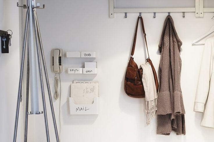 12 best Delimiter entrée images on Pinterest Room dividers - mur porteur en brique