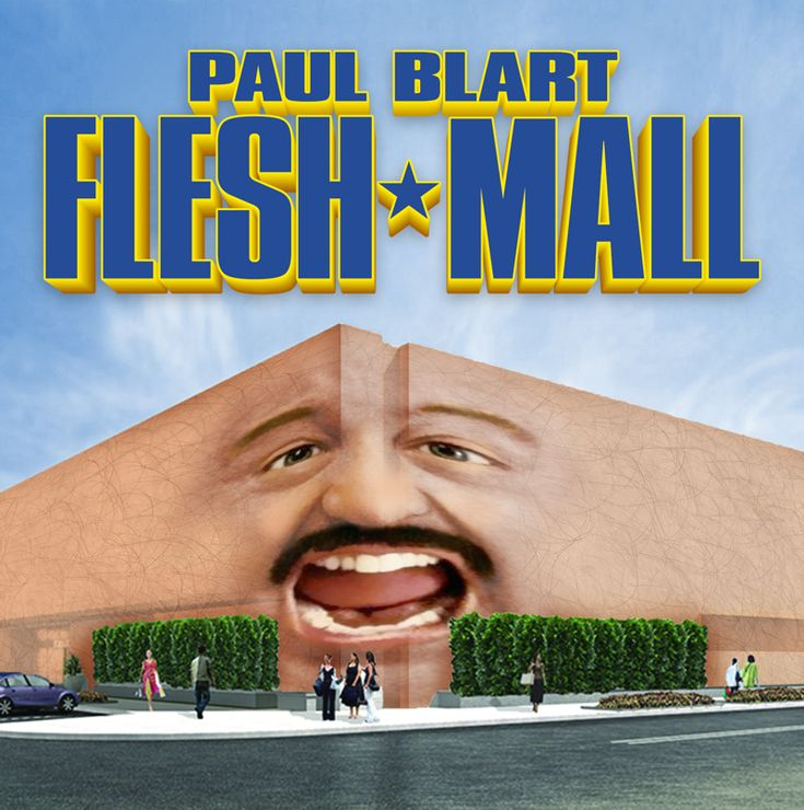 Paul Blart probably does have enough overall skin to cover a mall.