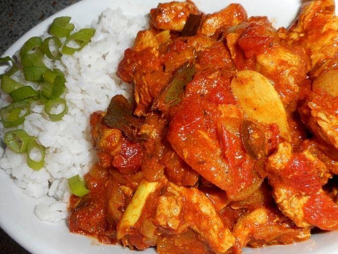 Indické kuře Madras