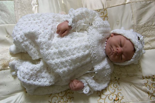 Ravelry: Baby Boy's Crochet Christening or Special Occasion Suit and Hat pattern by Karen Ashton-Mills