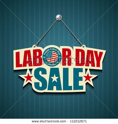 Happy Labor Day Vacation Sales Weekend Sale Car TV Sale 2014