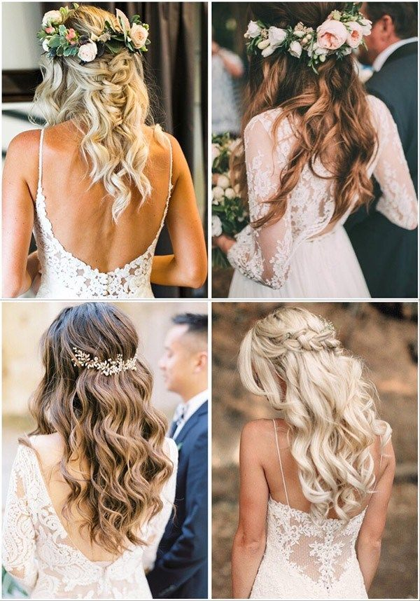 Forevermorebling Wedding Blog A Site Born Out Of The Love For All Things Wedding Bridal Hair Inspiration Wedding Hair Down Wedding Hairstyles For Long Hair