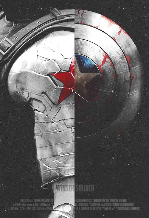 Captain America Winter Solider Poster Design