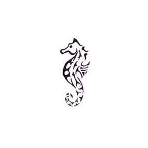 Free Sea Horse Tattoo Designs And Ideas  Animals Art