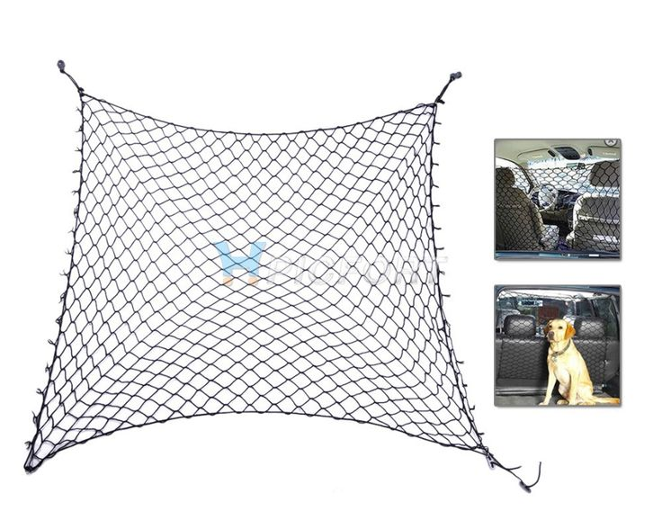 Car Amp Suv Cargo Seat Area Pet Dog Barrier Net Safety