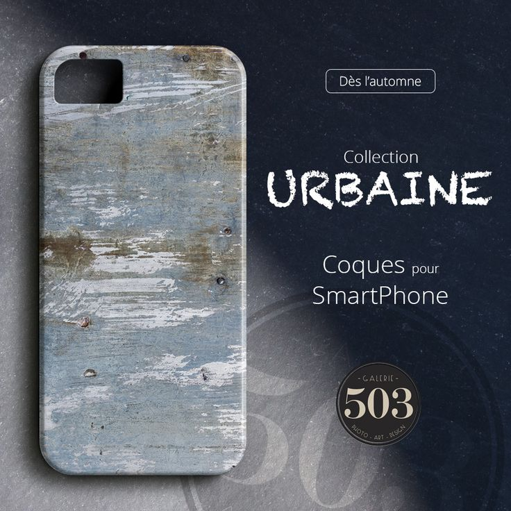 "Nos coques de notre collection ""Urbaine"" pour SmartPhone. (Smartphone Cases)"