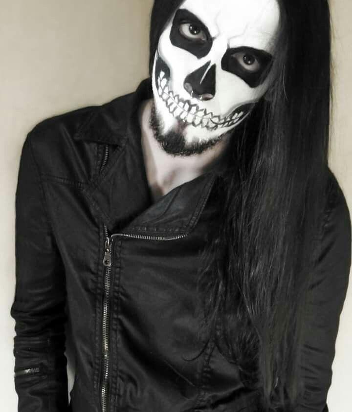20 best gothic makeup for men images on pinterest