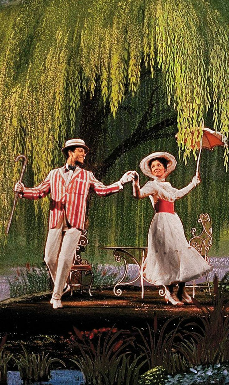 Mary Poppins one of my many favorite childhood movie's. Just a spoonful of sugar ***