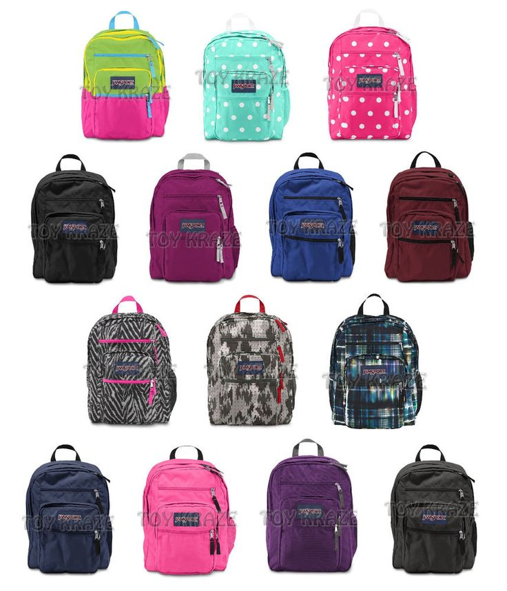 JANSPORT BIG STUDENT BACKPACK ORIGINAL 100 AUTHENTIC SCHOOL BOOK BAG NEW JanSport Backpack