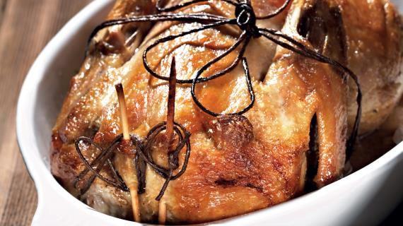 Утка, фаршированная апельсинами и травами. Пошаговый рецепт с фото, удобный поиск рецептов на Gastronom.ru