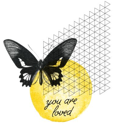 oh, hello friend | you are loved (I like this web site image/ logo)