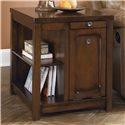 Kayden Rectangular End Table with Built In Storage by Signature Design by Ashley - Beck's Furniture - End Table Sacramento, Rancho Cordova, Roseville, California