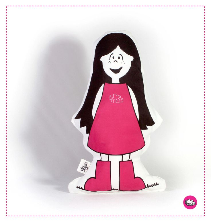 LUX CLASICA  #muñeca #doll #pink #toy #juguete #kids #illustration #ilustración