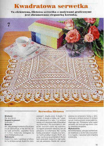 Kira scheme crochet: Scheme crochet no. 1417