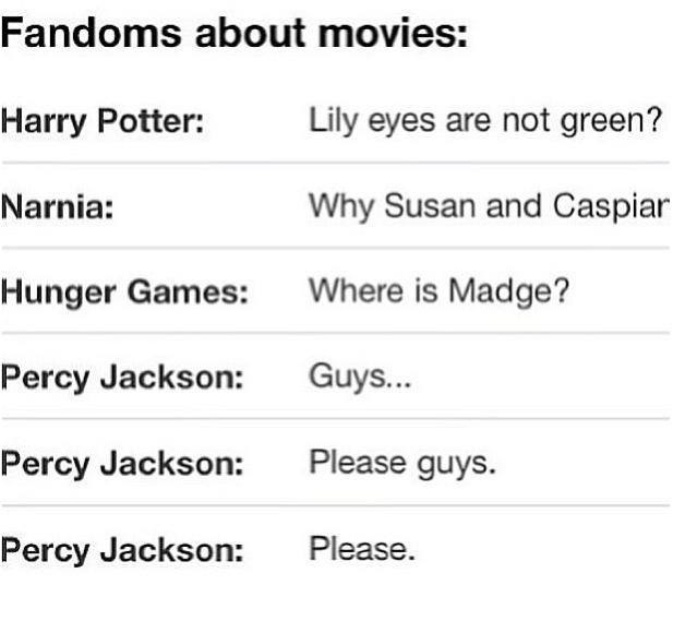 Percy Jackson...i can't even list all the things wrong with the movie...