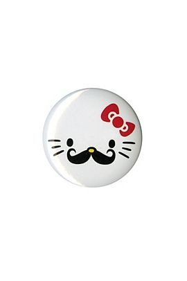 Hello Kitty Mustache Pin - 173219
