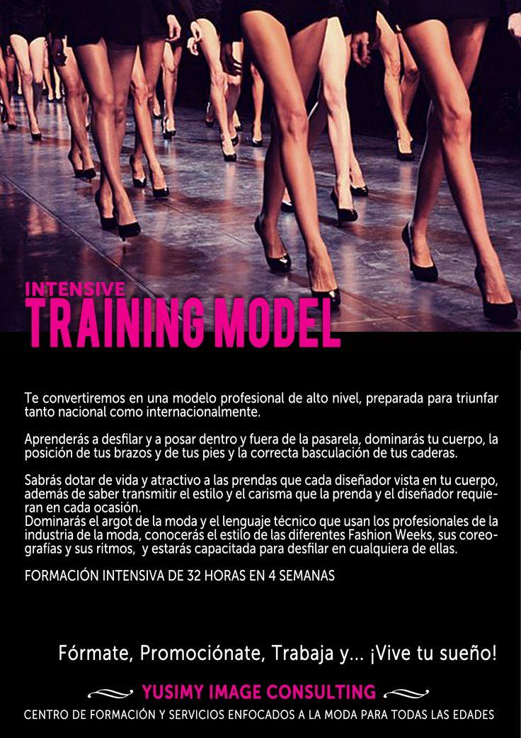 INTENSIVE TRAINING MODEL, conviértete en una modelo profesional.