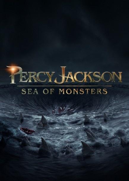 El 16 de agosto llegará por fin a los cines la segunda parte de la saga de libros de Percy Jackson.  Después del estreno de Percy Jackson y el ladrón del rayo en 2010, los fans de esta saga fantástica estaban esperando ansiosos la segunda parte, titulada Percy Jackson y el mar de los monstruos cuyo póster ya podemos ver.  En el póster vemos un mar revuelto lleno de aletas gigantes de tiburones y entre ellas un pequeño bote que lucha por escapar de los tiburones y de algo más terrorífico