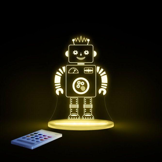 LED Night Light - Robot