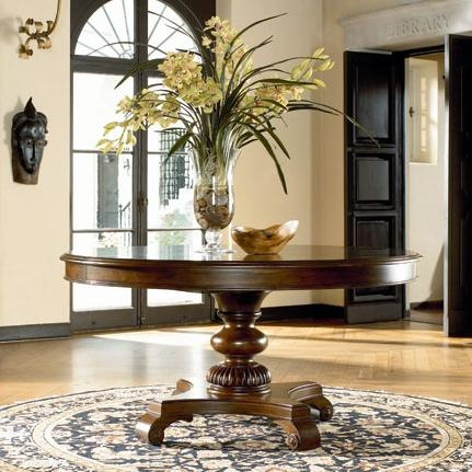 Ernest Hemingway Rift Valley Round Dining Table By Thomasville Darvin Furniture Dining Room