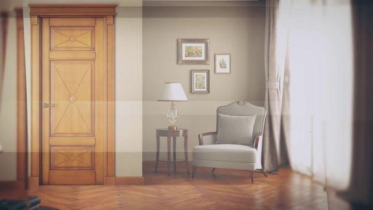 Межкомнатные двери Волховец коллекция Toscana