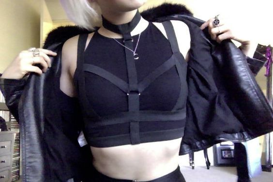 Nu Goth | Goth | Alternative | Fashion | Black